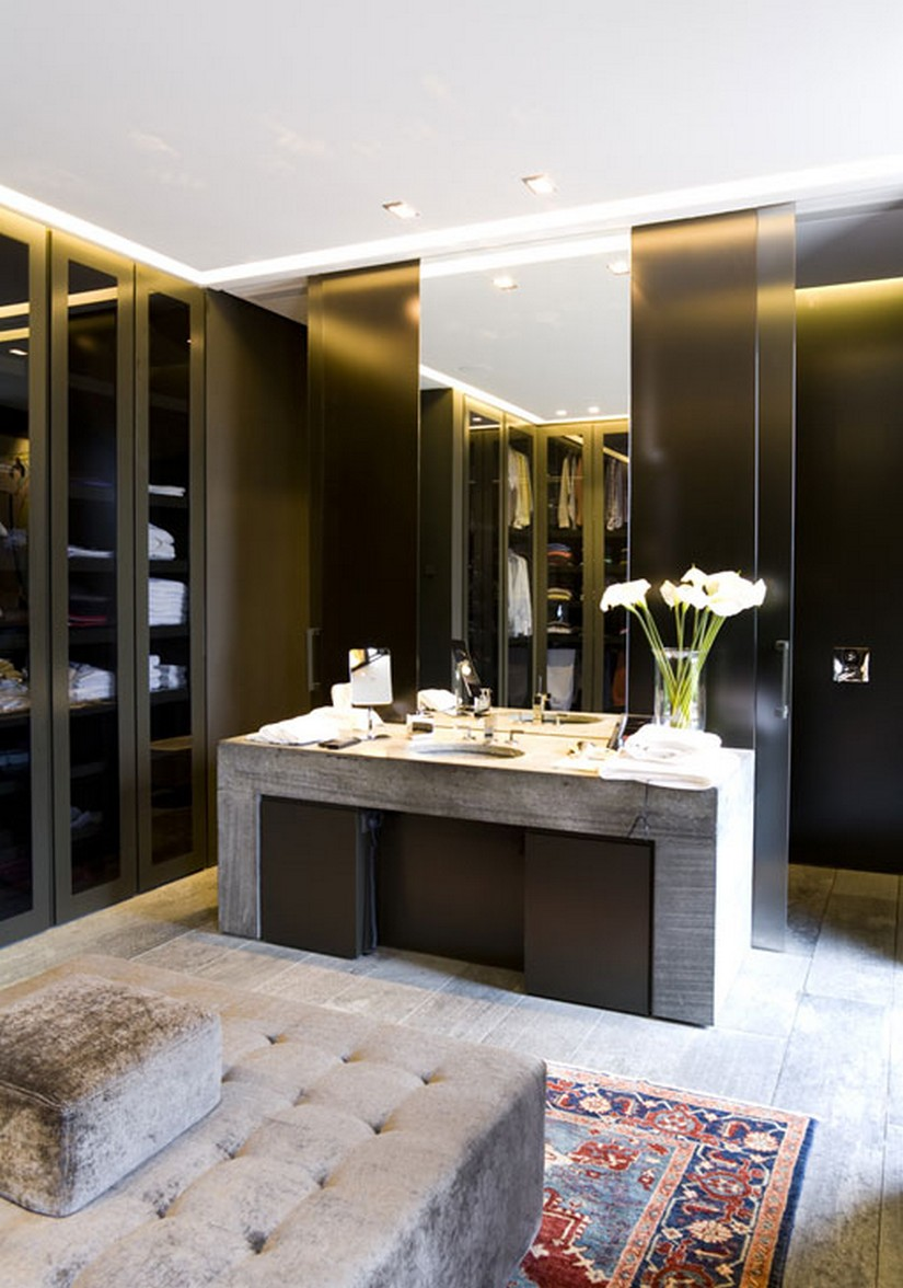 10 walk in closets for a luxury bedroom bedroom ideas for Bathroom dressing ideas