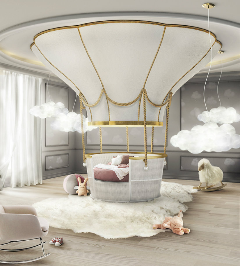 Kids Bedroom Decor Ideas kids bedroom Kids Bedroom Decor Ideas fantasy balloon ambience circu magical furniture 01